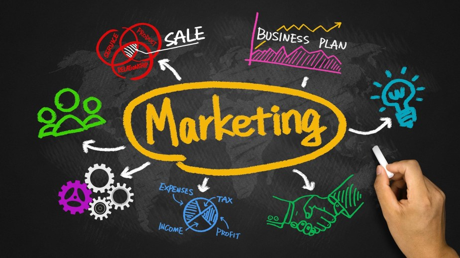 Stop thinking that marketing means selling !